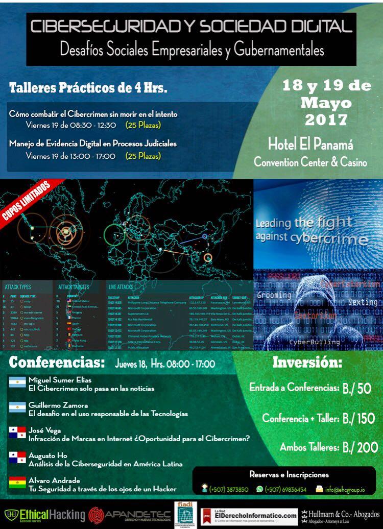 Ciberseguridad 18 y 19 de Mayo